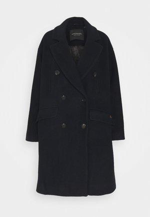 DOUBLE BREASTED PEACOAT - Zimní kabát - night