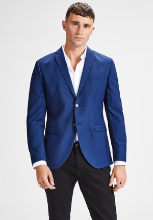Suit jacket - medieval blue