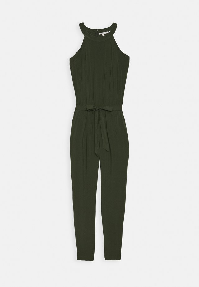 NECKHOLDER - Jumpsuit - dusty rifle green