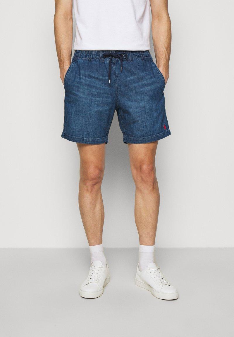 Polo Ralph Lauren - PREPSTER - Denim shorts - blane