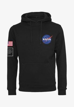 NASA INSIGNIA FLAG  - Hoodie - black