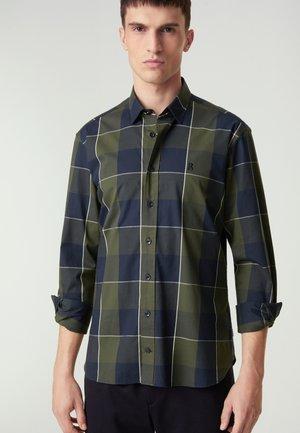 TIMI - Shirt - navyblau/olivgrün