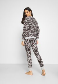 Hunkemöller - LEGGING LEOPARD - Pyjama bottoms - grey - 2