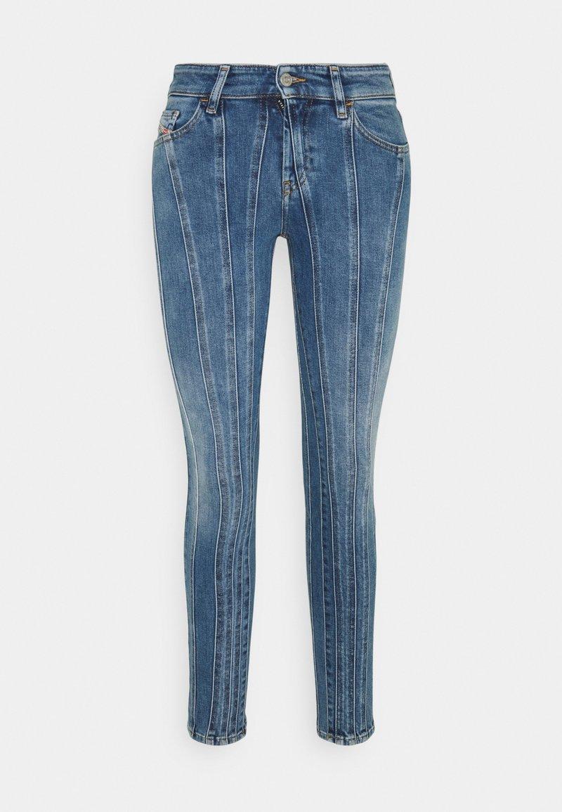 Diesel - D-SLANDY - Jeans Skinny Fit - medium blue
