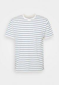 rag & bone - MILES TEE - Print T-shirt - ivryblue - 4