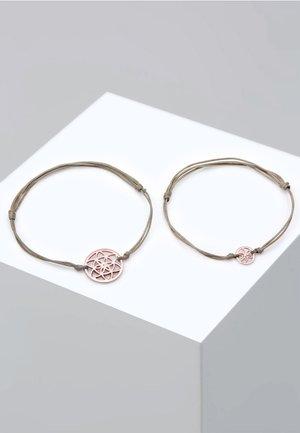 SET - Armband - pink gold