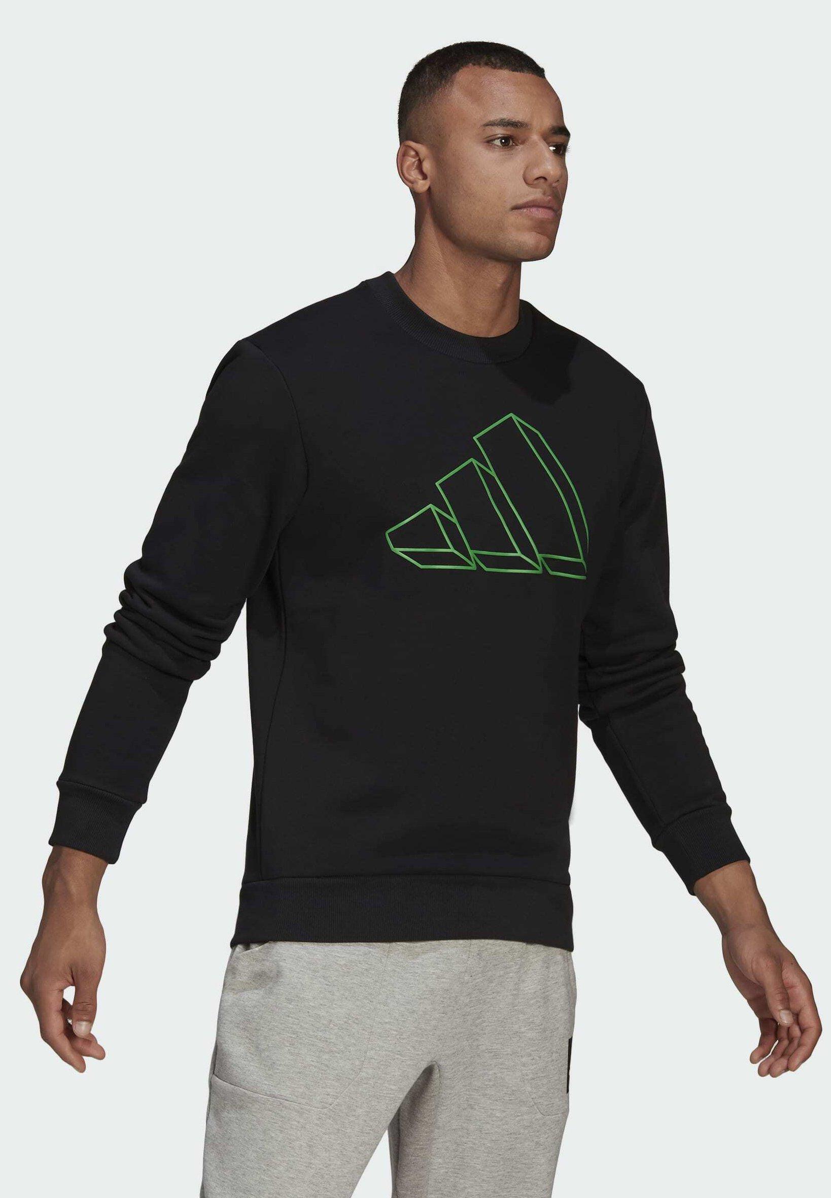 Herren M FI Graphic CREW BD MUST HAVES SPORTS REGULAR PULLOVER SWEATSHIRT - Sweatshirt