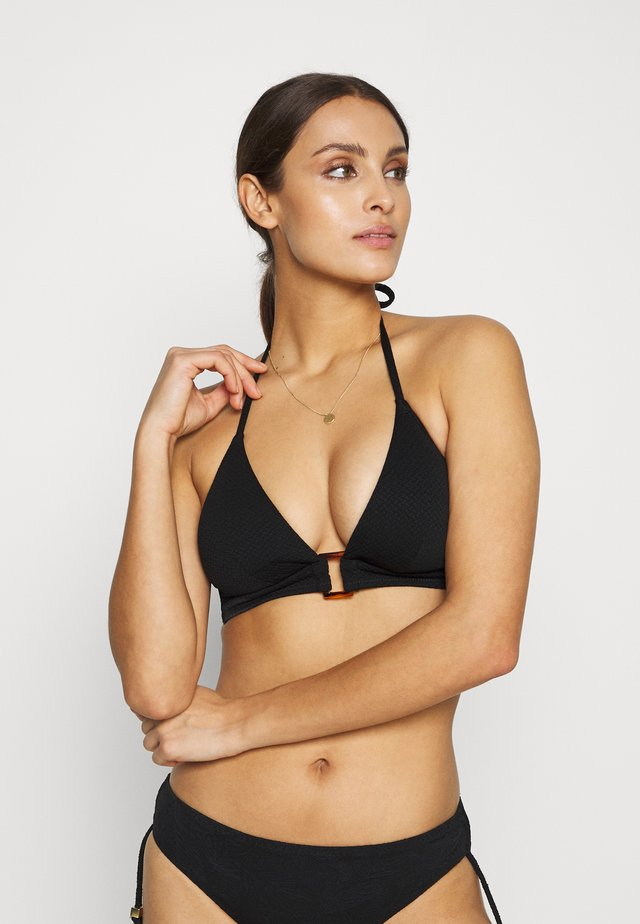 SOLAIRE TRIANGLE - Bikini top - noir
