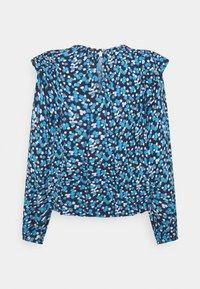 GAP Petite - RUFFEL SHOULDER - Blouse - blue - 6