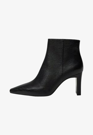 MOON - Classic ankle boots - zwart