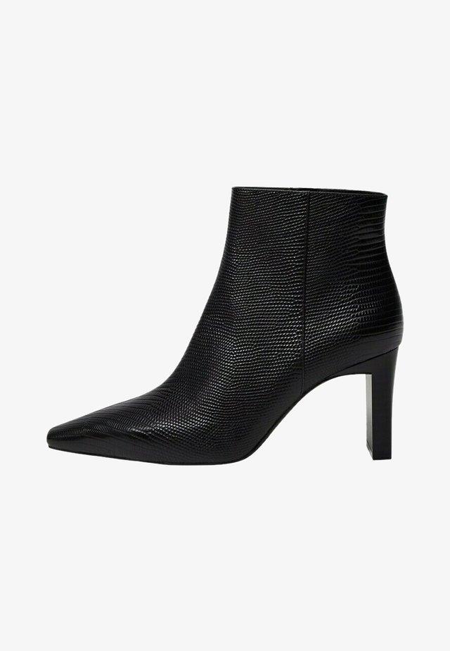 MOON - Korte laarzen - zwart