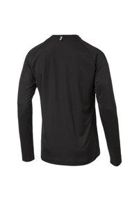 Puma - CORE RUN MEN'S LONG SLEEVE RUNNING MAN - Sports shirt - black - 1