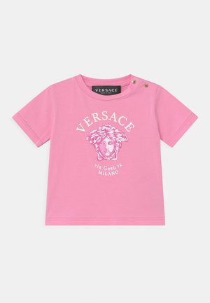 SHORT SLEEVES VIA GESSU  - T-shirt print - pink/white/fuxia