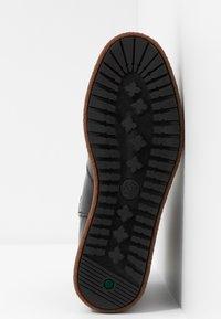Timberland - BELL LANE - Platåstøvletter - dark red - 6