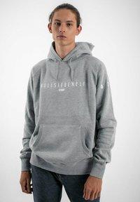 PLUSVIERNEUN - STUTTGART - Hoodie - grey - 0