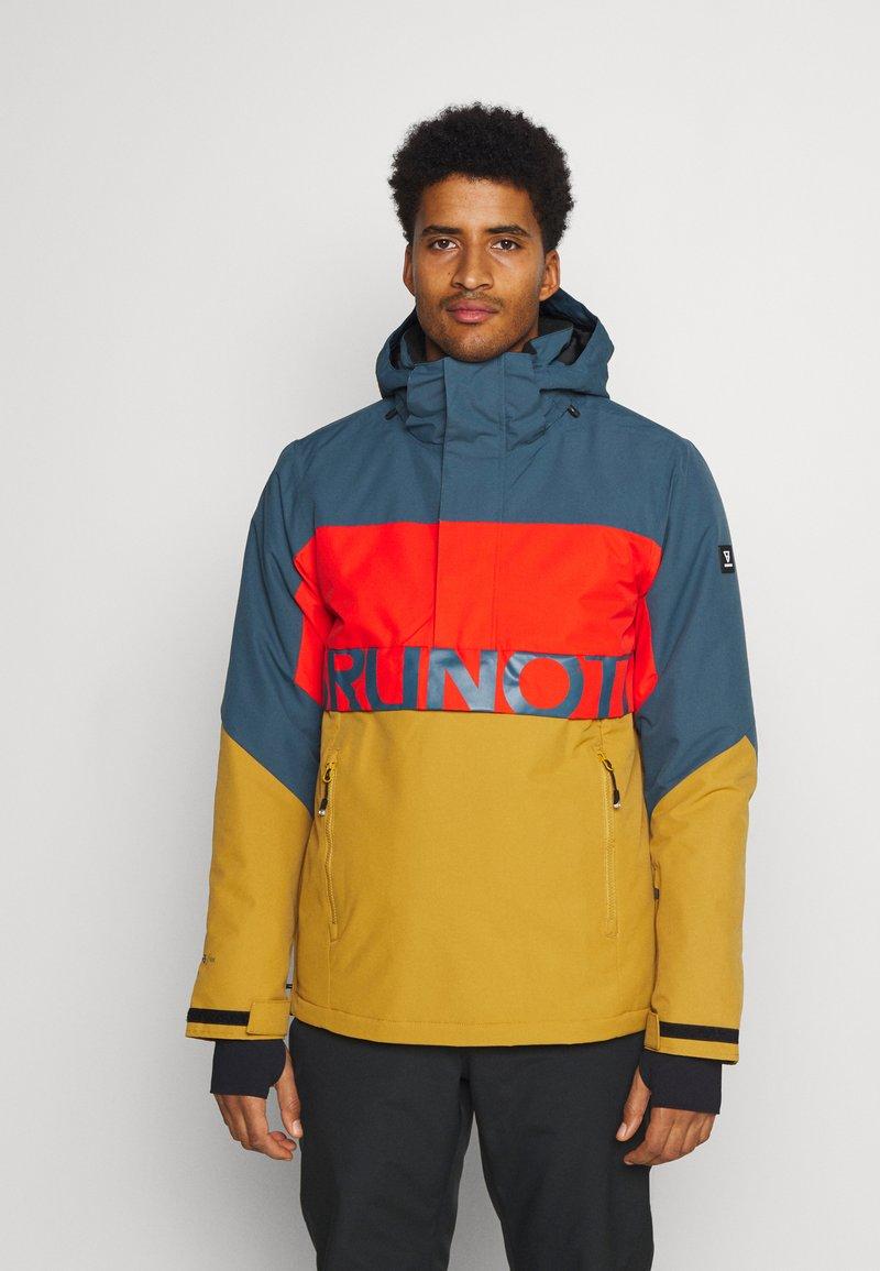 Brunotti - TRISTIN MENS JACKET - Snowboardová bunda - camel brown