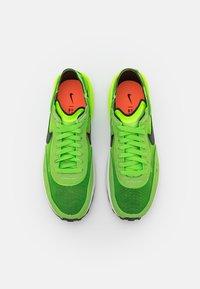 Nike Sportswear - WAFFLE ONE - Trainers - electric green/black/mean green/hyper crimson-white-orange - 5