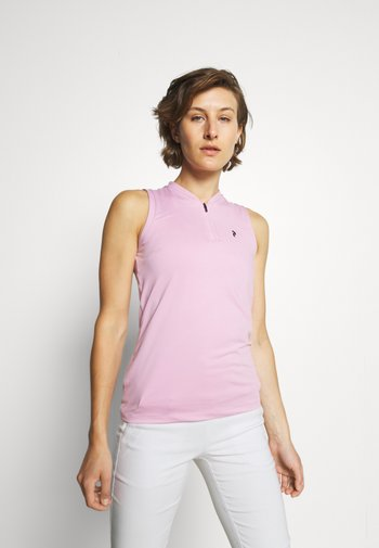 TURF ZIP  - Polo shirt - statice lilac