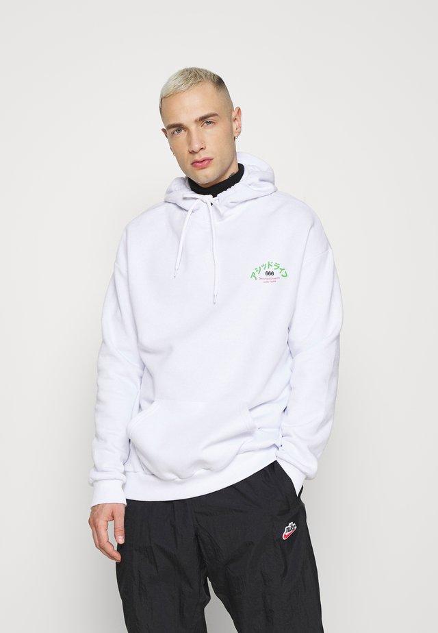 UNISEX - Collegepaita - white