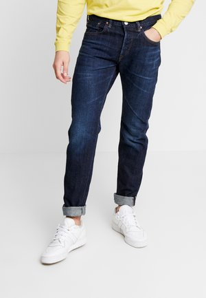 REGULAR TAPERED - Jeans a sigaretta - dark-blue denim