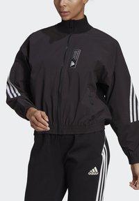 adidas Performance - ADIDAS SPORTSWEAR AEROKNIT TRACK TOP - Chaqueta de entrenamiento - black - 3