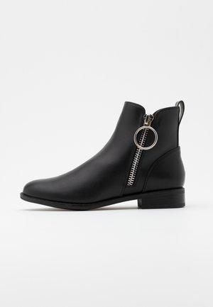 ONLBOBBY ZIP - Ankle boot - black