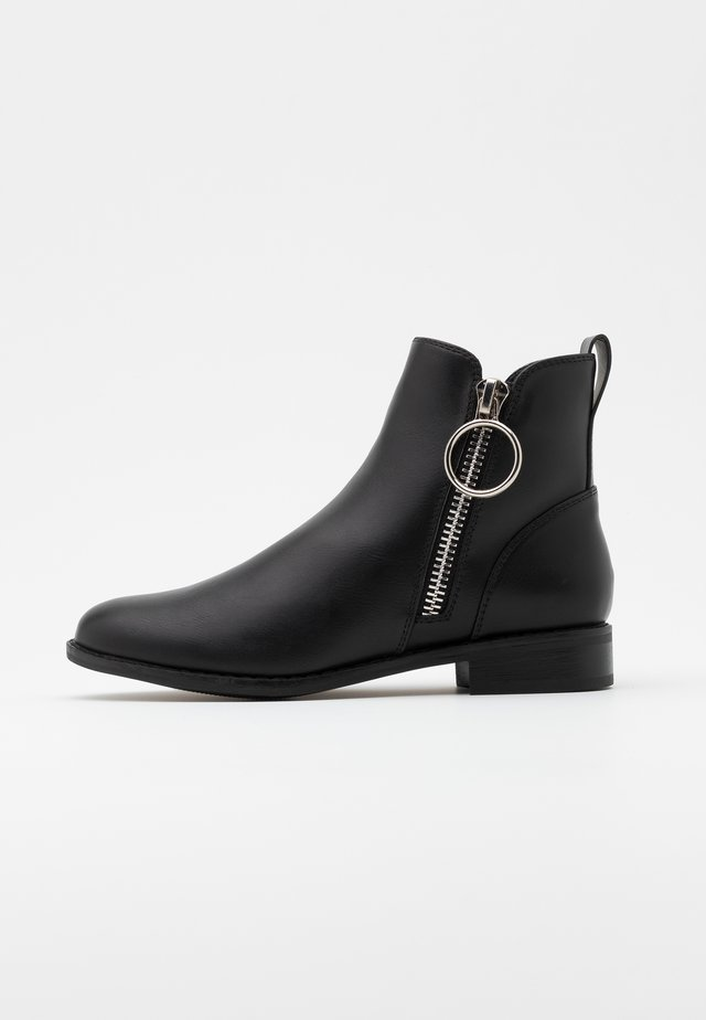 ONLBOBBY ZIP - Ankle boot - black