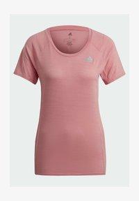 adidas Performance - ADI RUNNER PRIMEGREEN RUNNING - T-shirts - pink - 3