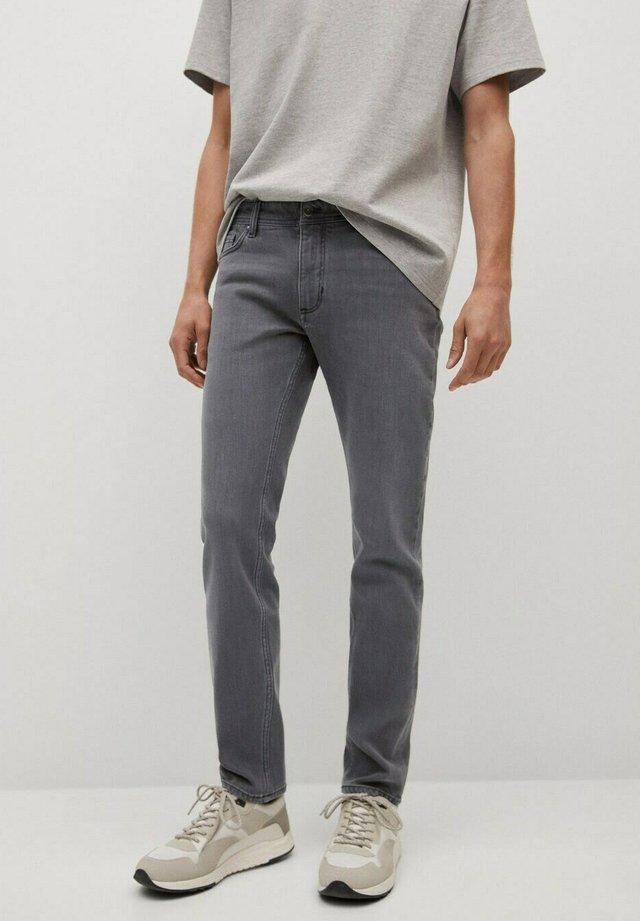 Slim fit jeans - denimgrå
