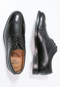 Clarks - COLING LIMIT - Smart lace-ups - zwart - 1