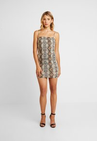 Honey Punch - TANK DRESS - Vestito di maglina - snake - 0