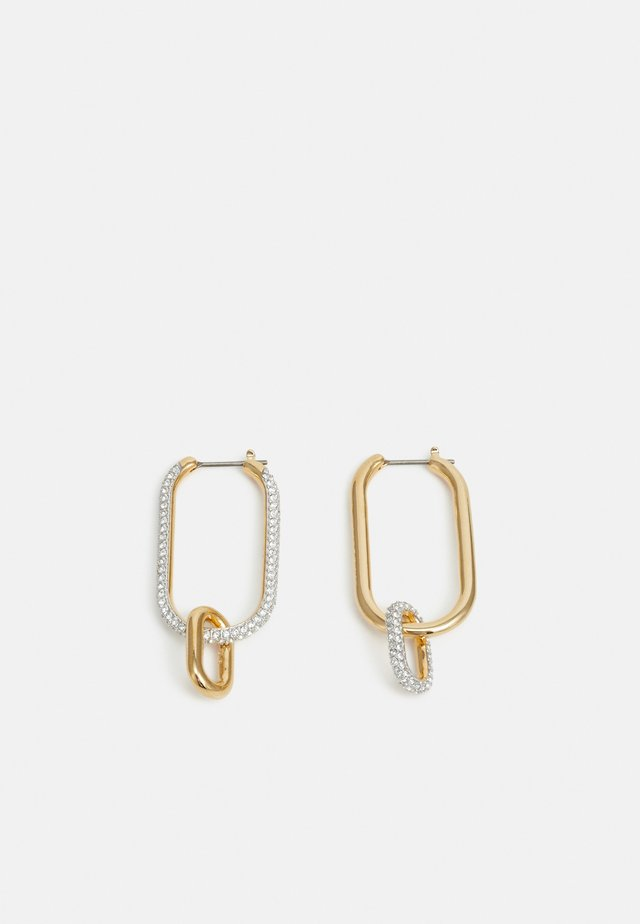 TIME HOOP OVAL - Earrings - gold-coloured
