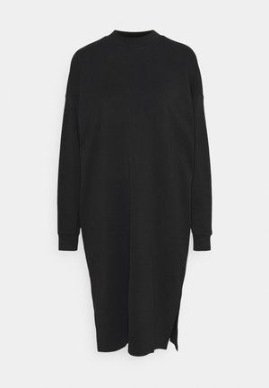 MINDY DRESS - Jersey dress - black solid