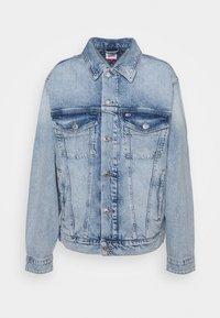 REGULAR TRUCKER JACKET - Denim jacket - ames