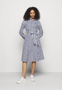 Polo Ralph Lauren - Shirt dress - navy/white - 0