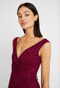 Sista Glam - TYREEN - Festklänning - berry - 4