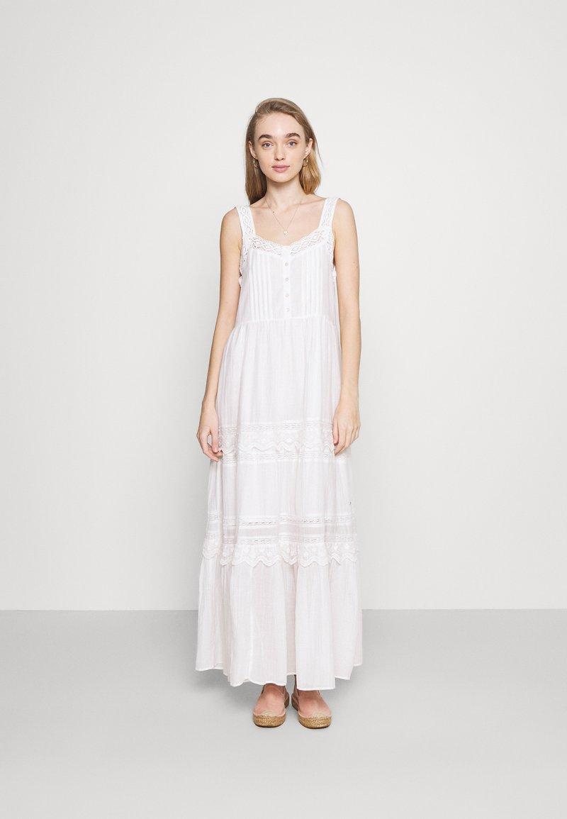 Pepe Jeans - BRENDA - Długa sukienka - off white