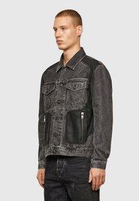Diesel - Giacca di jeans - black - 7