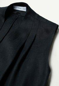 Mango - Waistcoat - schwarz - 6