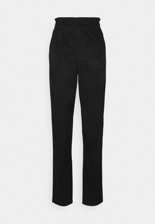 VMEVANY STRING ANKLE PANT - Trousers - black
