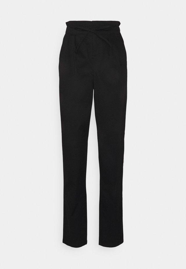 VMEVANY STRING ANKLE PANT - Pantaloni - black