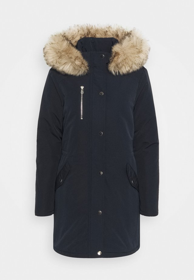 LUXE TRIM COAT - Winter coat - navy