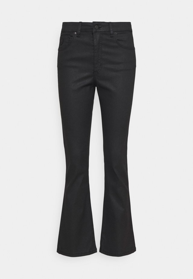 MALENA - Flared jeans - black