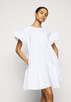 LORETTA - Day dress - bright white
