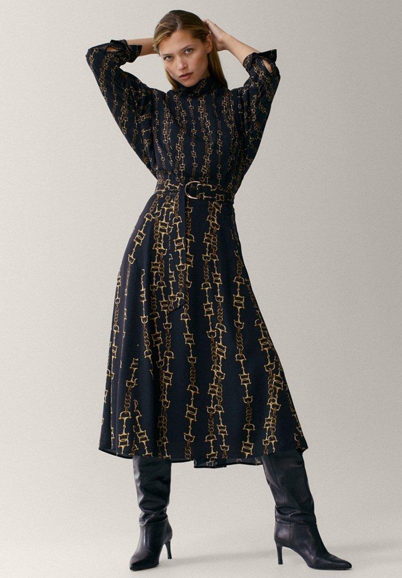 Massimo Dutti - Shirt dress - multi-coloured