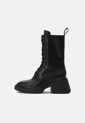 ODESSA - Snørestøvletter - black