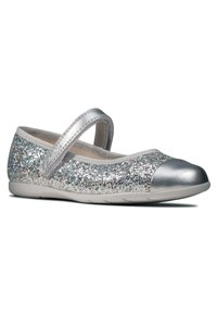 Clarks - DANCE TAP TODDLER - Ankle strap ballet pumps - silber / synthetik - 1