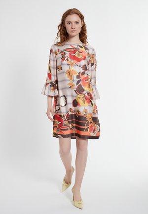 DELORIA - Korte jurk - mehrfarbig