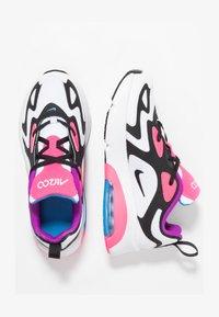 Nike Sportswear - Tenisky - white/black/hyper pink/photo blue - 1