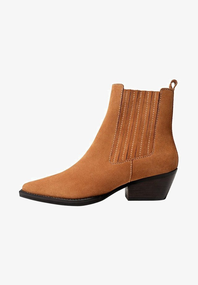 BETTI - Ankle boot - mittelbraun